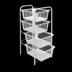 Kitchen Trolley Miami | White