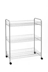 Kitchen Trolley Grande | Silver