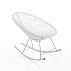 Rocking Chair Numana | White