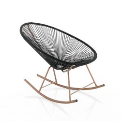 Rocking Chair Numana | Black
