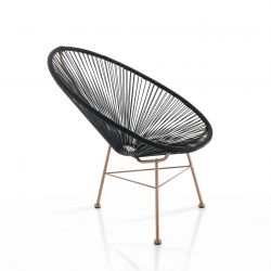 Lounge Chair Numana | Black