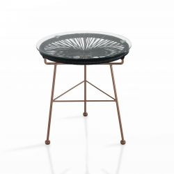 Table d'Appoint Numana | Noir