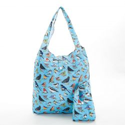 Shopping Bag | Wild Birds | Blue