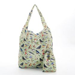 Shopping Bag | Wild Birds | Green