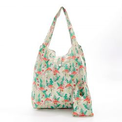 Shopping Bag | Flamingo | Beige