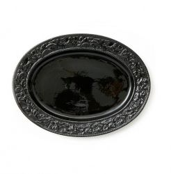 Serving Dish Lukas | Black