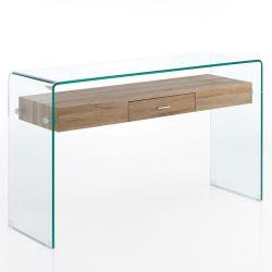 Schreibtisch Noa | Glas