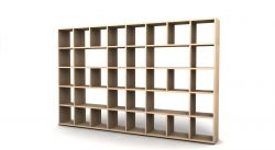 Shelving System 355 Version 7 | Beech Wood