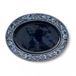 Serving Dish Lukas | Blue