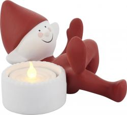 Deco Led Tea Light | Christmas Elf Lazy