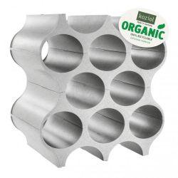 Flaschenregal-Setup | Organisch Grau