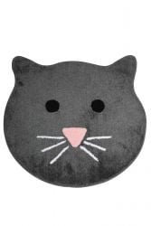 Bath Mat Cat | Dark Grey