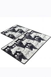 Tapis de Bain Set de 2 | White Cats