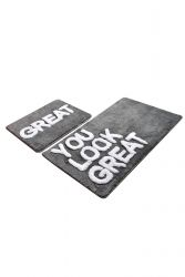 Tapis de Bain Set de 2 | You Look Great