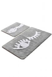 Bath Mat Set of 2 | Big Eyes
