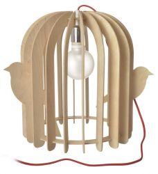 Porte-Lampe Cage à Oiseaux