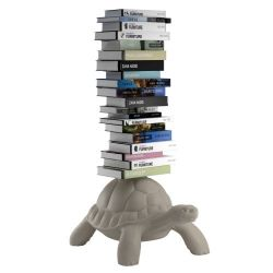 Schildkröte Bücherregal | Grau