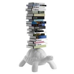 Schildkröte Bücherregal | Weiß