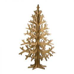 Cardboard Christmas Tree Large | Natural