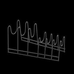 Pfannendeckelhalter Lido | Schwarz