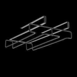 Gläserhalter MyGlass | Schwarz