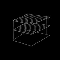 Tellerregal Palio | Schwarz