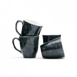 Set de 4 Tasses | Noir