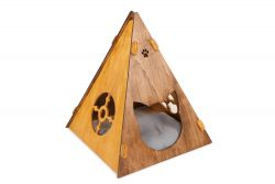 Cat House Tent | Walnut