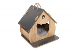 Cat House | Pine/Anthracite