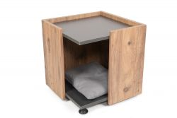 Cat House Square | Pine/Anthracite