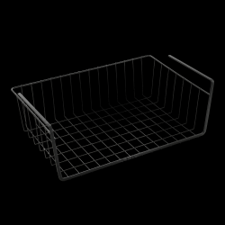 Hanging Storage Basket Kanguro | Black
