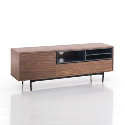 TV Stand Piet | Dark Wood