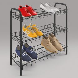 Shoe Rack 3 | Black