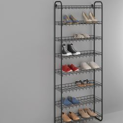 Shoe Rack 8 | Black