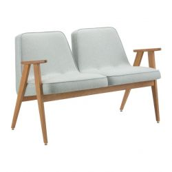 2-Sitzer-Sofa 366 Tweed | Menthos
