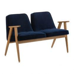 2-Sitzer-Sofa 366 Velvet | Indigo