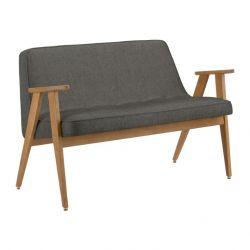 Sofa 366 Loft | Eiche & Grau