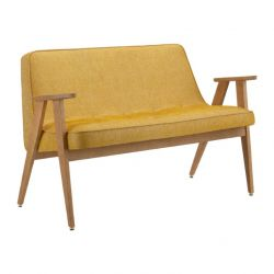 Sofa 366 Loft | Natural Oak & Mustard