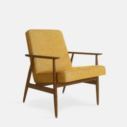 Armchair Fox Loft | Dark Wood 03 & Mustard