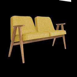 2-zit Sofa 366 Loft | Mosterdgeel