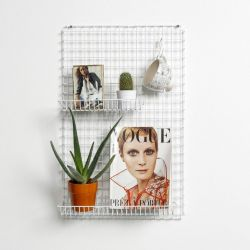 DISCONTINUED Wall Rack | White