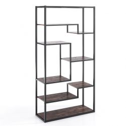 Bookcase Jumble High | Black