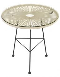 Table d'Appoint Acapulco | Taupe