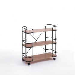 Cart Framework | MDF Wood & Black