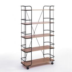 Tall Cart Framework | MDF Wood & Black