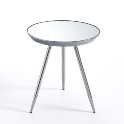 Table basse Spok | Chrome