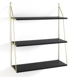 Wall Shelf Fast Big | Black