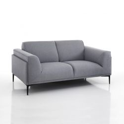2 Seater Sofa Nadine | Grey