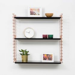 Book Shelf | Copper & Black