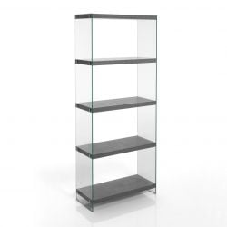 Bookcase Nancy 70 | Cement